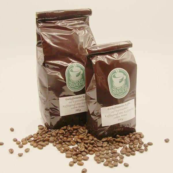 Entkoffeinierter Kaffee aus dem Kaffeehaus Sowohl Als Auch